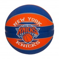 Spalding NEW YORK KNICKS Basket Ball - Size 7 (Blue/Black/White )