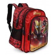 Marvel Avengers Inifinity War Iron Man School Bag 16 inch