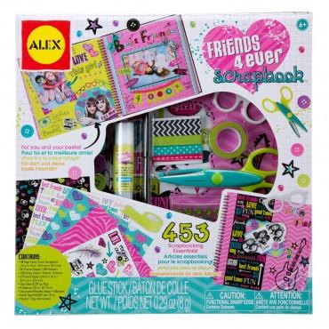Alex Toys Craft Friends 4 Ever Scrapbook Kit