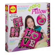 Alex Toys Craft Giant Knot And Stitch Pillow Kit
