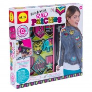 Alex Toys Craft Iron And Wear Rad Patches