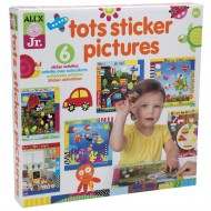 Alex Toys Alex Jr. Tots Sticker Pictures