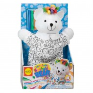 Alex Toys Color A Cuddle Washable Bear