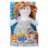 Alex Toys Color A Cuddle Washable Doll