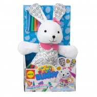 Alex Toys Color A Cuddle Washable Bunny