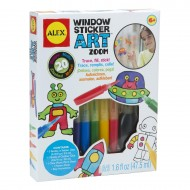 Alex Toys Craft Windows Sticker Art Zoom