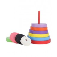 Anindita Toys Stacking Circles Towers 9 Pieces