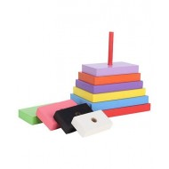 Anindita Toys Stacking Rectangles Towers 9 Pieces