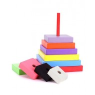 Anindita Toys Stacking Square Towers 9 Pieces