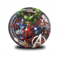 Avengers Paper Plates Size 7 inch, Pack of 10