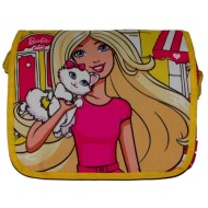 Barbie  Printed Messenger Bag Yellow