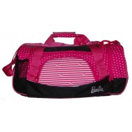 Barbie Travel Duffle Bag Black