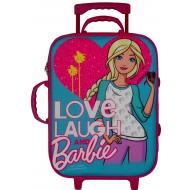 Barbie Trolley Bag Blue