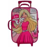 Barbie Trolley Bag Pink