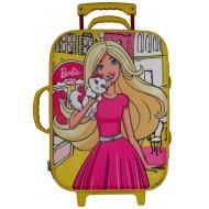 Barbie Trolley Bag Yellow