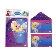 Disney Frozen Invitation Card with Envelope, Pack of 10
