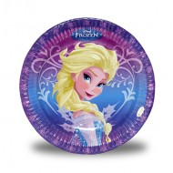 Disney Frozen Paper Plates Size 9 inch, Pack of 10