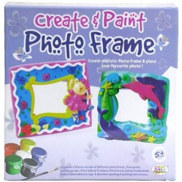 Ekta Create & Paint Photo Frame Fun Game