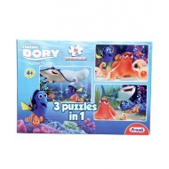 Frank 3 In 1 Finding Dory Puzzle 26 Pieces