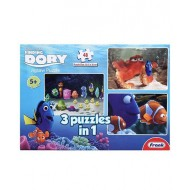 Frank 3 In 1 Finding Dory Puzzle 48 Pieces