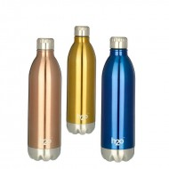 H2O Stainless Steel Sipper Water Bottle 1000ml SB521