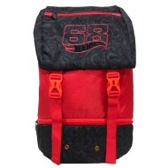 Hotwheels Drawstring Backpack Red