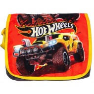 Hotwheels Printed Messenger Bag Orange