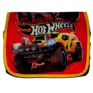 Hotwheels Printed Messenger Bag Red