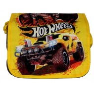 Hotwheels Printed Messenger Bag Yellow