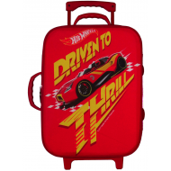 Hotwheels Trolley Bag Red