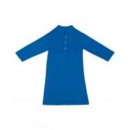 Silverthread Elegant Linen Kurta  Turquoise