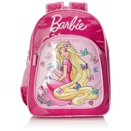 Barbie Butterfly Pink School Bag 16 Inch