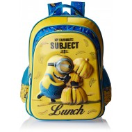 Minions Favourite Subject School Bag 18 Inch