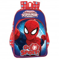 Spiderman Blue and Red School Bag 14 Inch