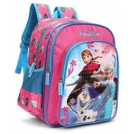 Disney Frozen Trio Pink and Blue School Bag 16 inch