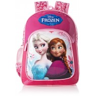 Disney Frozen Sisters Pink School Bag 14 Inch