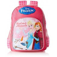 Disney Frozen Sisters and Olaf School Bag 18 Inch