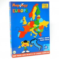 Imagimake Mapology Europe Map Puzzle