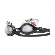 TYR Character Shark Junior Goggles  - Light Grey