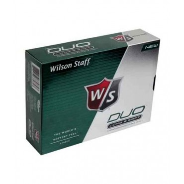 Wilson DuoGreen 12 Ball Golf Balls