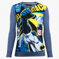 Batman Denim Blue Sweatshirt BM1ESB719