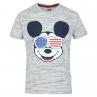 Mickey & Friends Grey T-Shirt MF0FBT1501