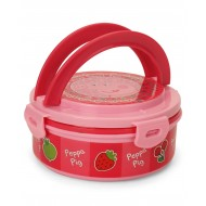 Peppa Pig Insulated Round Lunch Box Pink