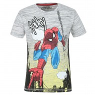 Spiderman Grey T-Shirt SM0FBT703