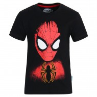 Spiderman Black T-Shirt SM0FBT710