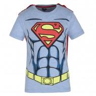 Superman Blue Red T-Shirt SP0FBT971