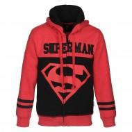 Superman Black Red Sweatshirt SP1EFJ1124BR