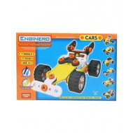 Enginero Plastic Car Construction Set 77 Pieces