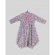 Silverthread Balloon Style Dress