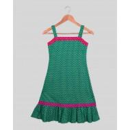 Silverthread Khadi Print Dress